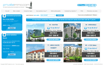 ventes privees immobilier